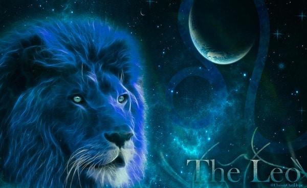 New moon Leo lion